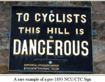 A rare 19th Century sign still to be seen.