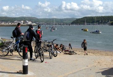 Conwy Estuary cycle path