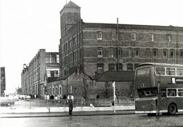 Hygeia Street, Liverpool directly ahead 1950s