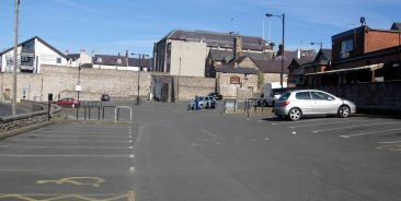 Town centre car park Easter Monday afternoon - 2015 - not a cycle carrier to be seen.
