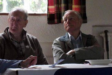 Jim Skelding(R) together with fellow Former DA President Colin Taylor