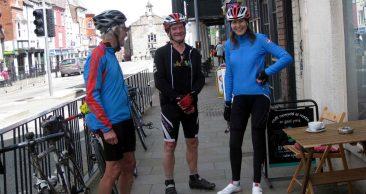 Denbigh -Eden Valley cyclists