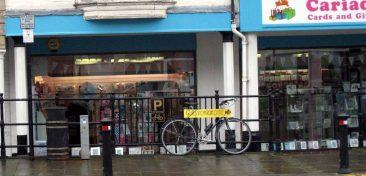 Denbigh style Cycle Parking.