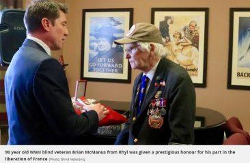 Brian McManus. French Legion of Honour
