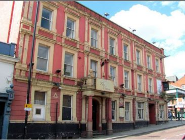 formerly Victoria Hotel, Wigan