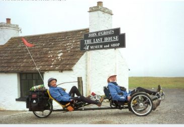 John O' Groats 2000 John&Mary Hodges